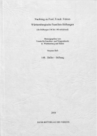 Faber, 09. Nachtrag (2000)
