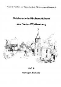 Ortsfremde in BW Heft 06: Ispringen