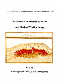 Ortsfremde in BW Heft 12: Eberdingen