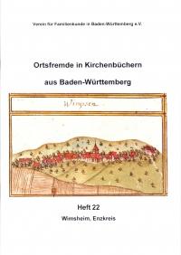 Ortsfremde in BW Heft 22: Wimsheim