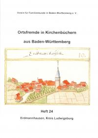 Ortsfremde in BW Heft 24: Erdmannhausen