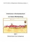 Ortsfremde in BW Heft 01: Markgröningen (Kreis Ludwigsburg)
