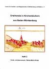 Ortsfremde in BW Heft 02: Korb, mit Steinreinnach, Rems-Murr-Kreis