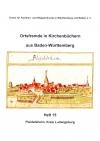 Ortsfremde in BW Heft 15: Pleidelsheim