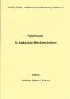 Ortsfremde in Baden Heft 01: Dietlingen