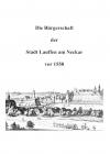 Die Bürgerschaft der Stadt Lauffen am Neckar vor 1558