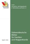 Südwestdt. Blätter für Familien- und Wappenkunde Band 32 (2014)