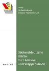 Südwestdt. Blätter für Familien- und Wappenkunde Band 35 (2017)